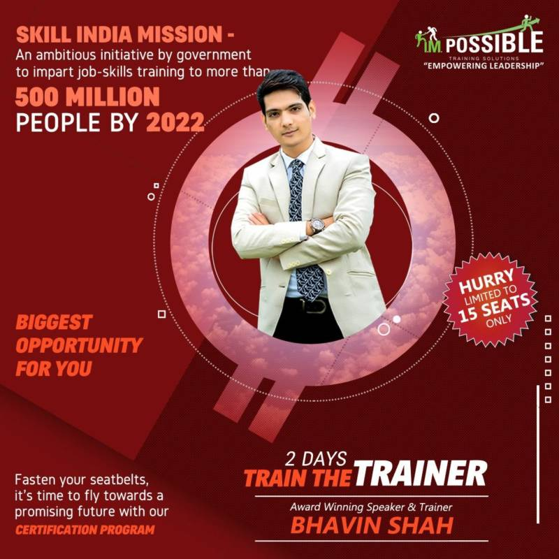 Train The Trainer Master & Expert Level Certification Program With Bhavin Shah