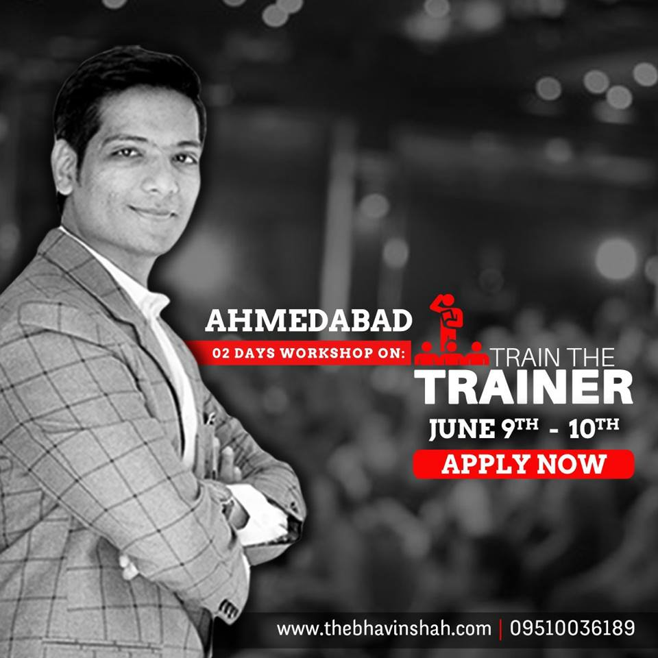 "Exclusive ""2 Days Train The Trainer"" Master Level Certification Program – Ahmedabad"