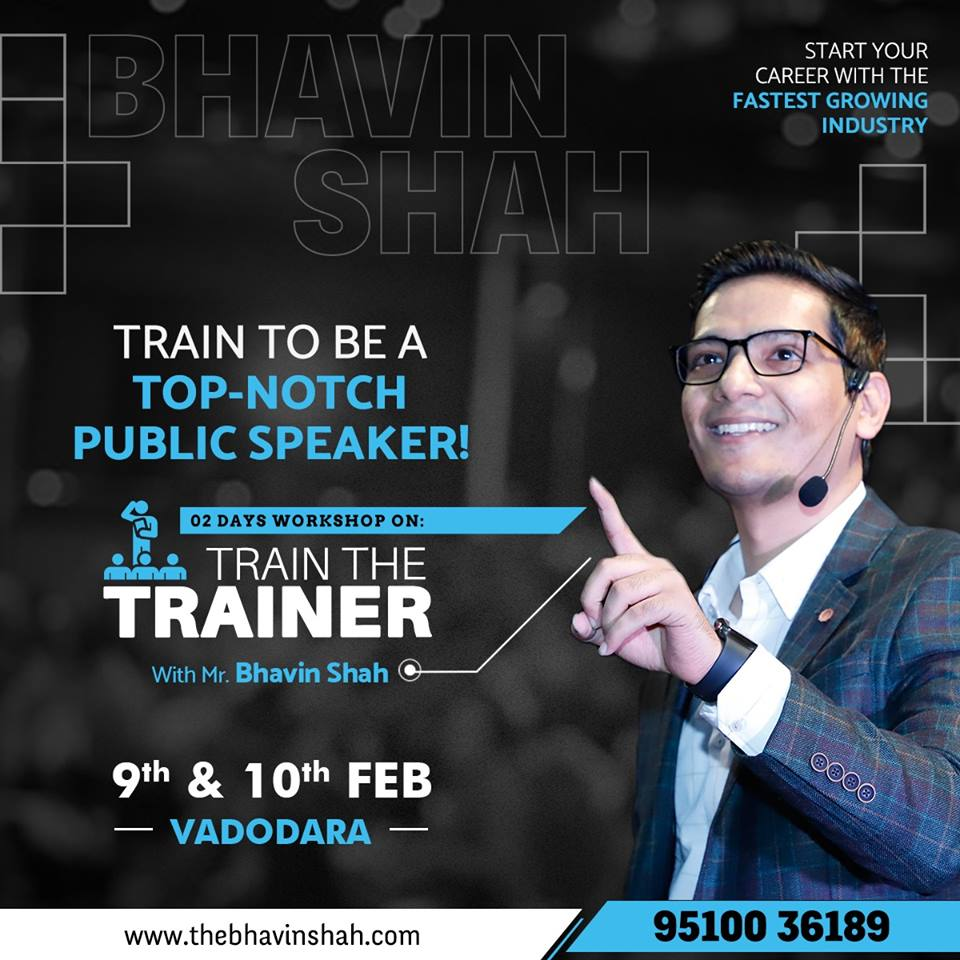 "Exclusive ""2 Days Train The Trainer"" Master Level Certification Program – Vadodara"